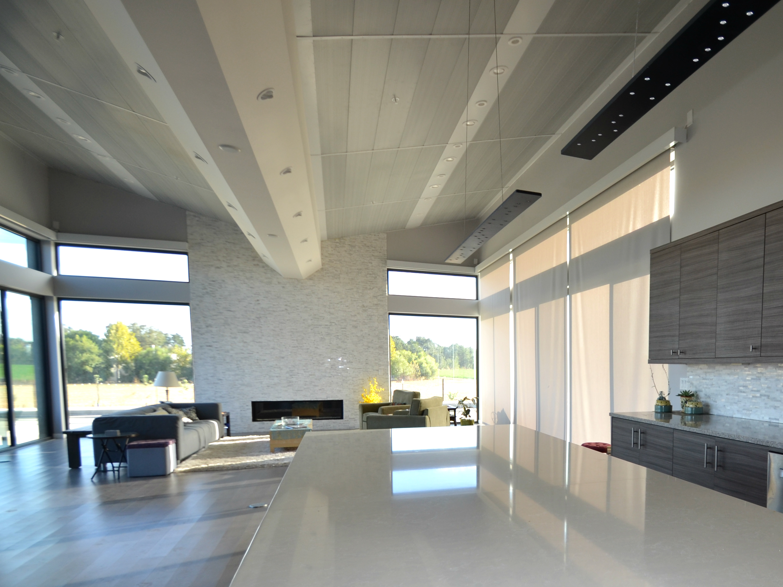 Nice Netu2010Zero Home, Sacramento, CA U2013 Single Family. Automated Solar Shades,  Motorized Solar Shades